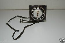 Vintage Old Aged Worn Westclox Mantle Clock FOR PARTS OR REPAIR