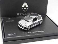 UH 1/43 - renault Clio V6 renault sport chrome