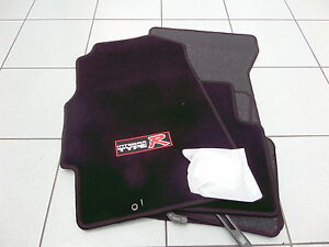 Original Velours Fussmatten Teppichmatten Honda Integra DC2