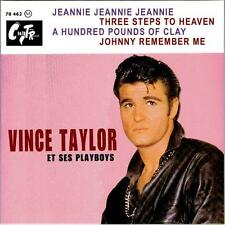 VINCE TAYLOR 45 EP - JEANNIE JEANNIE JEANNIE- AWESOME UK 60s ROCKER GREAT COVER