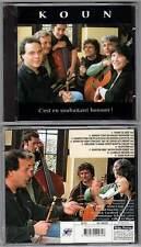 "KOUN ""C'est En Souhaitant Bonsoir"" (CD) 1999 NEUF"