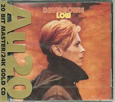 Bowie, David Low 24 Karat Gold CD Ryko AU20 Neu OVP Sealed RCD 80142