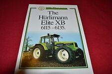 Hurlimann Elite XB 6115 6135 Tractor Dealers Brochure  LCOH