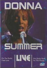 Donna Summer - Live    New dvd in seal. region free