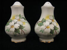 Royal Albert WHITE DOGWOOD Salt and Pepper Shakers 5/9