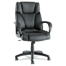 Alera Alera Fraze Series High Back Swiveltilt Chairblack Leather Fz41ls10b New