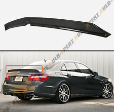 FOR 10-16 MERCEDES BENZ W212 E63 AMG SEDAN HIGH KICK CARBON FIBER TRUNK SPOILER