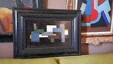 Composition cubiste abstraite des années  1950