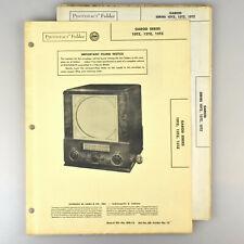 Garod 10TZ 12TZ 15TZ Television Radio Receiver Manual SAMS Photofact 60-12