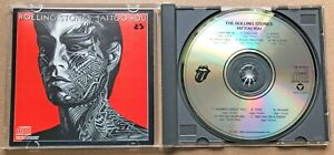 ROLLING STONES Tattoo You CD Made by JVC Japan for US RARE CK 40502