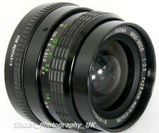 SIGMA Mini-WIDE 1:2.8 f=28mm Multi-Coated Wide-Angle Lens Pentax-K or Micro 4/3