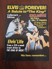 ELVIS PRESLEY Forever 1977 magazine