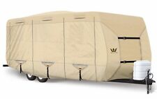 S2 Expedition Premium Travel Trailer RV Cover - fits 27' - 28' Length TAN