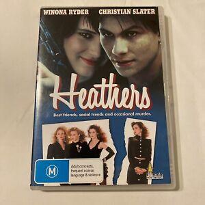 DVD - Heathers (1988 Movie) Winona Ryder Christian Slater - All Regions