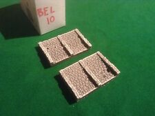N scale, N gauge Stepped  stone bridge abbuttments -double track -painted