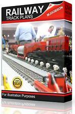 Track Plans CAD Hornby OO Gauge Design Build Model Railway Layouts  on USB