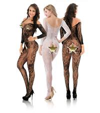 Damen Frauen Bodysuit Reizwäsche nachtswäsche Catsuit Jumpsuit Body Dessous Top