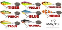 Spinner Tail Lure Fishing Bait IWO OL Lure Fishing 8g-23g Pike Perch Bass lrf UK