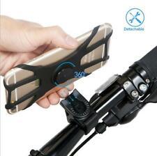 Bike Phone Holder Universal Cycling Handlebar Bicycle Mount 360 Degree Rotating.