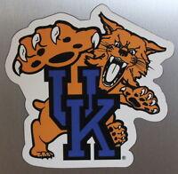University of Kentucky Wildcats Team Magnet Football Logo NCAA College Car Frig