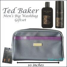 Ted Baker Mens Fitzrovia Toiletry Body/hair Wash Bag & Spray Christmas Gift