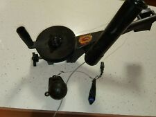 Cannon Mini Troll Downrigger down rigger with rod holder and Tru trac weight