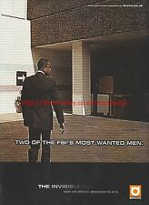 The Invisible Man Bravo 2001 Magazine Advert #7074