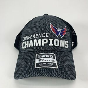 Washington Capitals 2018 Conference Champions Fanatics Stanley Cup Hat New