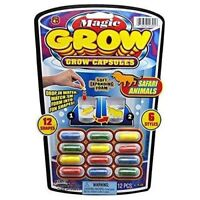 Magic Grow Capsules (One of 6 various themes), 12 Count package
