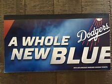 2013 Full Los Angeles Dodgers Complete Season Ticket Stubs Untorn Mint!