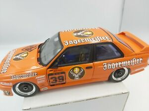 Minichamps 1/18 BMW M3 E30 Jagermeister #39 No box! Rare!