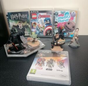 Playstation 3 (PS3) Children/Kids Games: Infinity, LEGO Marvel, Harry Potter