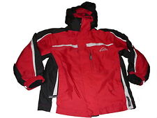 Mc Kinley tolle Outdoor Jacke + Fleece Jacke 2-in 1 Gr. 128 schwarz-rot !!