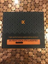 New! EK EVGA X79 Classified Liquid Cooling Block Set Copper Acetal