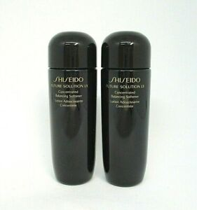 Lot/2 Shiseido Future Solution Lx Concentrated Balancing Softener ~ .84 oz x 2