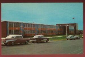 080521 1960S AUTOS AT HIGH SCHOOL VINTAGE TUPELO MS POSTCARD