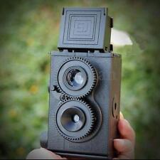 DIY Twin Lens Reflex TLR 35mm Lomo Film Camera Kit Classic Play Hobby Photo Gift