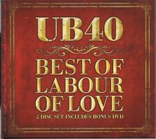 UB40 - Best Of Labour Of Love - 2 Disc Set With Bonus DVD 2009 Digipak