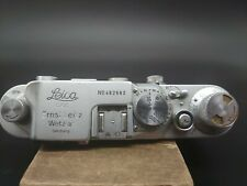 Leica 111c - 3c - lllc Body & Case. Serial No 482682