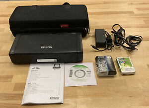 Epson Workforce WF-100 Wireless Mobile Printer w/ Carrying Case -Tested/Working