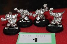 Games Workshop Blood Bowl Chaos Dwarf Dwarves Hobgoblins x4 Team BLOODBOWL New