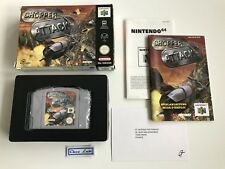 Chopper Attack - Nintendo 64 N64 - PAL EUU - Avec Notice