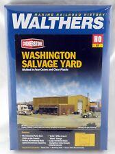 HO Scale Washington Salvage Yard Kit - Walthers #933-2928