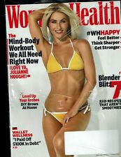 Women's Health Magazine June 2020 JULIANNE HOUGH Cover -- Mind/Body Workout