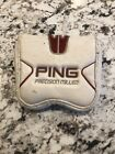 PING Precision Milled Mallet Putter Head Cover Red & White Nanotech Golf
