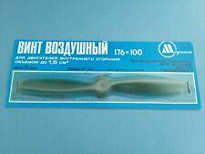 Vintage Russian Model Airplane Engine 1.5 cc .09 Diesel Glow Nitro Propeller 7*4