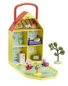 A Peppa Pig 06156 Peppa's House & Garden Playset