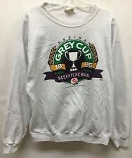 Vintage Grey Cup Saskatchewan Roughriders 1995 Crewneck Sweater Size Xl