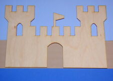 CASTLE Unfinished Wood Shape Cut Out 1CF811D Crafts Lindahl Woodcrafts