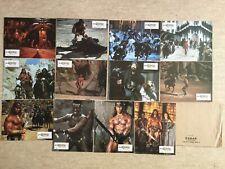 Conan le Destructeur 12 Photos Lobby Cards (Jeux A + B) Arnold Schwarzenegger